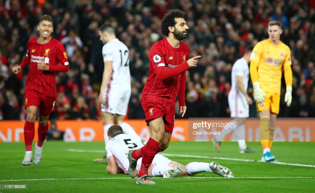 Liverpool FC v Sheffield United - Premier League : ニュース写真