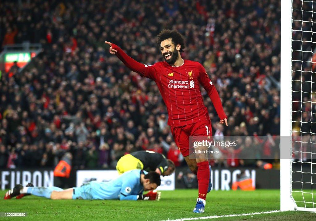 Liverpool FC v Southampton FC - Premier League : Nieuwsfoto's
