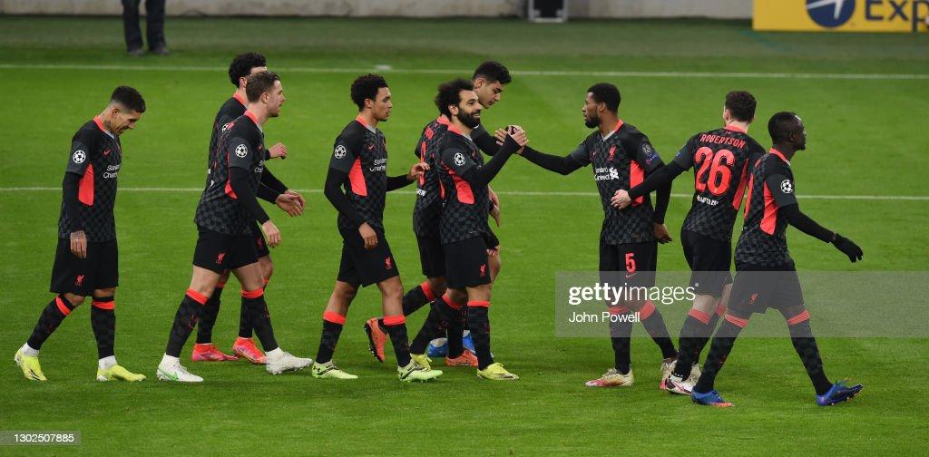 RB Leipzig v Liverpool FC  - UEFA Champions League Round Of 16 Leg One : ニュース写真