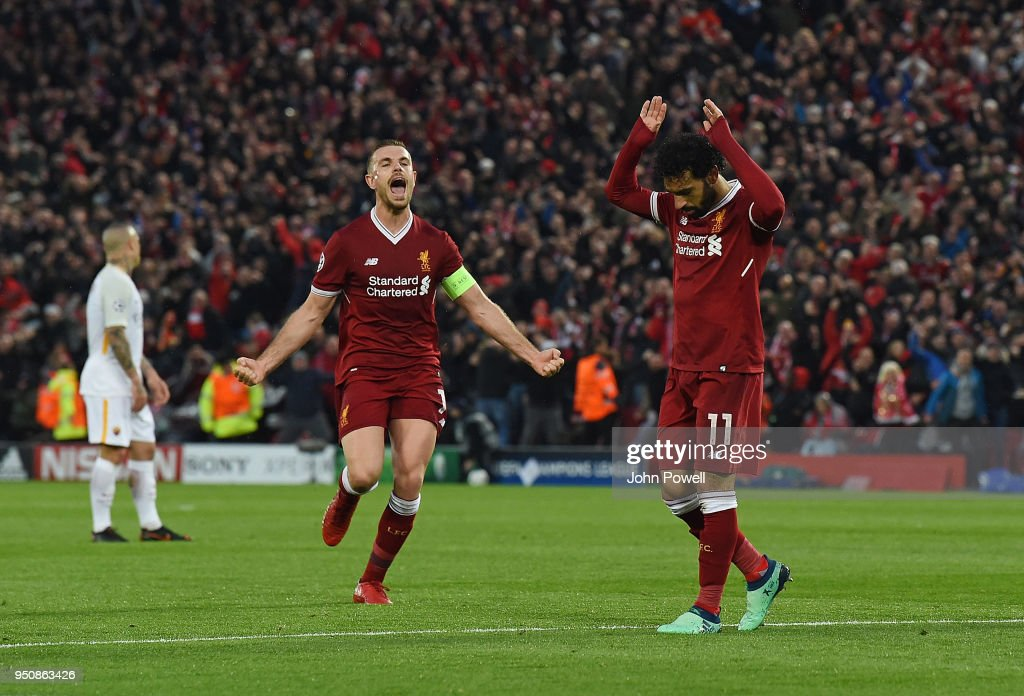 Liverpool v A.S. Roma - UEFA Champions League Semi Final Leg One : News Photo