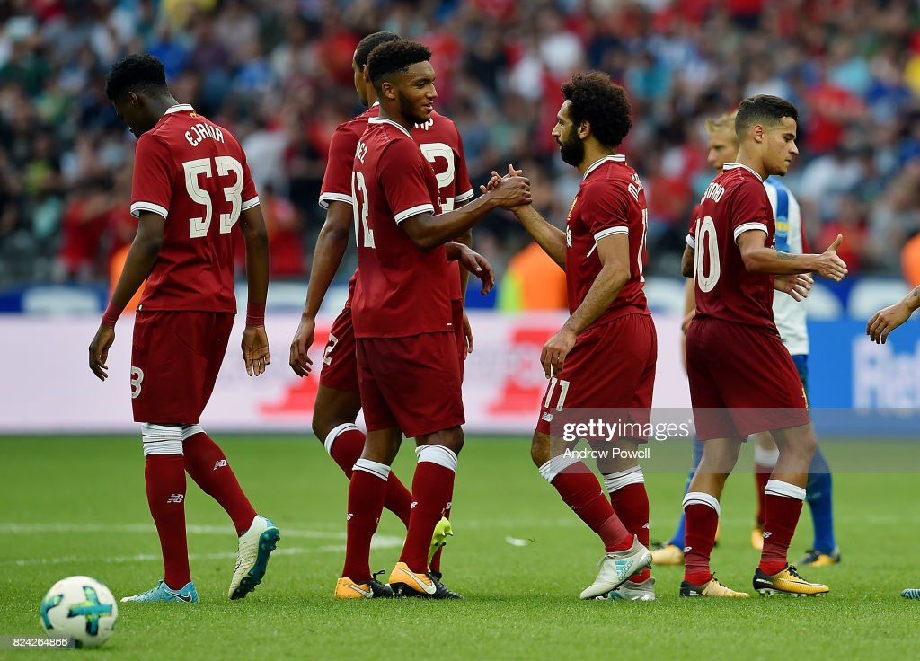 Hertha BSC v FC Liverpool - Preseason Friendly : ニュース写真