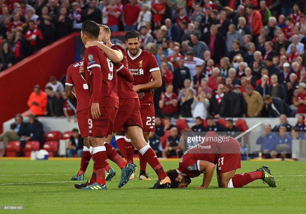 Liverpool FC v 1899 Hoffenheim - UEFA Champions League Qualifying Play-Offs Round: Second Leg : ニュース写真