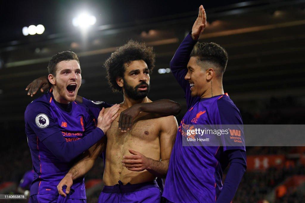Southampton FC v Liverpool FC - Premier League : Nachrichtenfoto