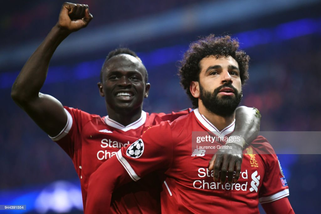 Manchester City v Liverpool - UEFA Champions League Quarter Final Second Leg : Fotografía de noticias