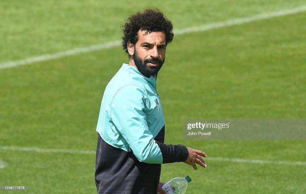 Liverpool Training Session : ニュース写真