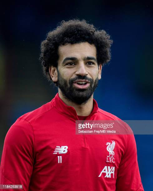 Mohamed Salah of Liverpool FC looks on during the Premier League match between Crystal Palace and Liverpool FC at Selhurst Park on November 23 2019...