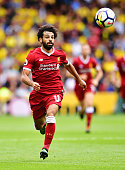 watford england mohamed salah liverpool action