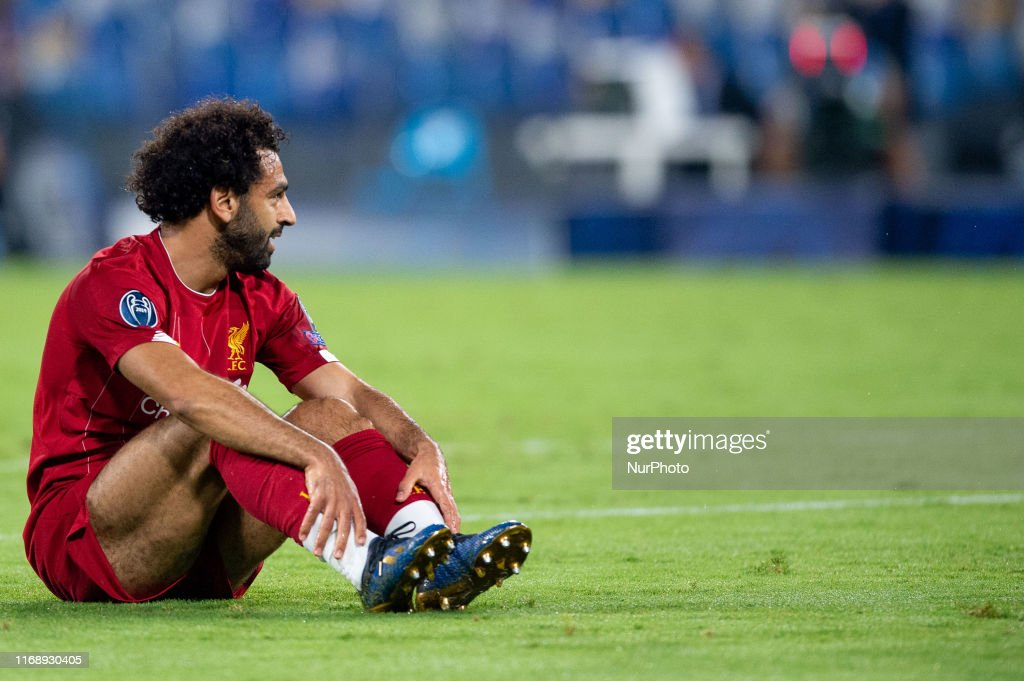 Napoli v Liverpool - UEFA Champions League : ニュース写真