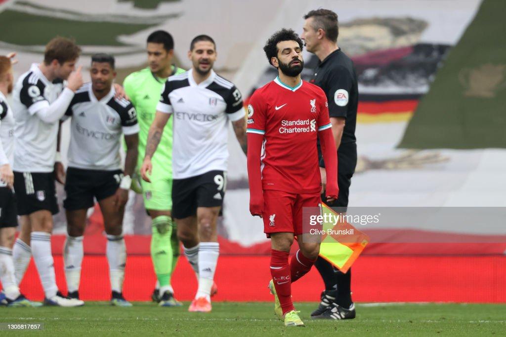 Liverpool v Fulham - Premier League : News Photo