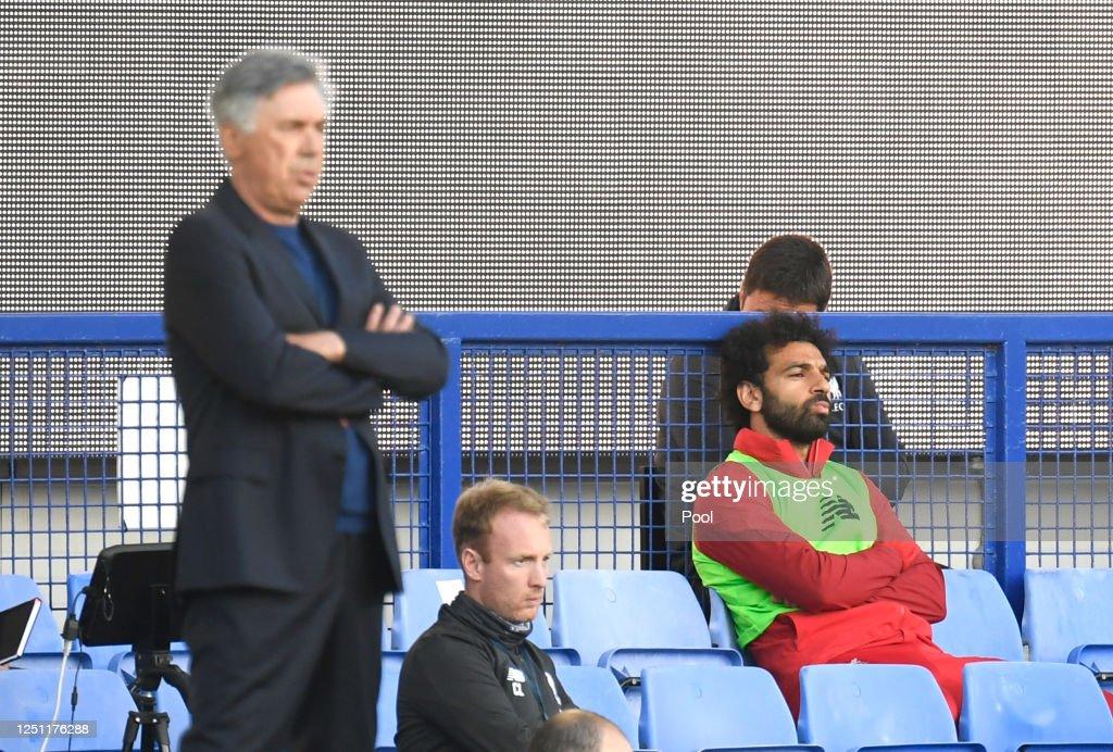 Everton FC v Liverpool FC - Premier League : News Photo