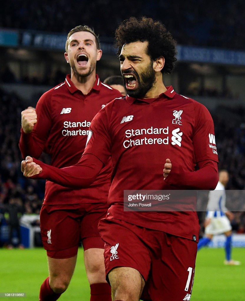 Brighton & Hove Albion v Liverpool FC - Premier League : News Photo