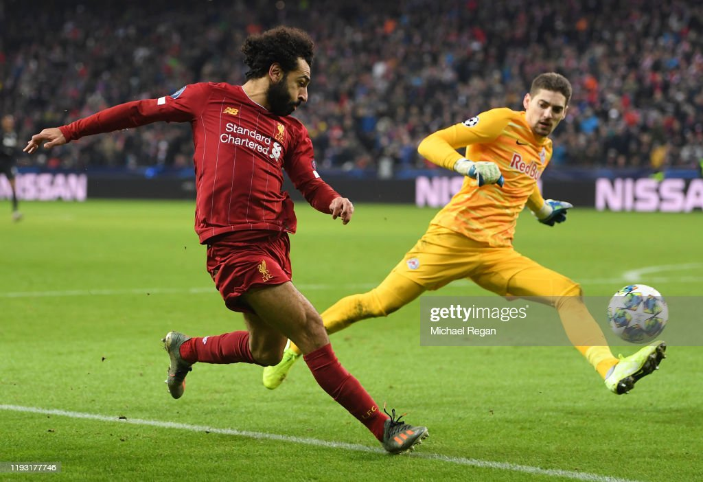 RB Salzburg v Liverpool FC: Group E - UEFA Champions League : News Photo
