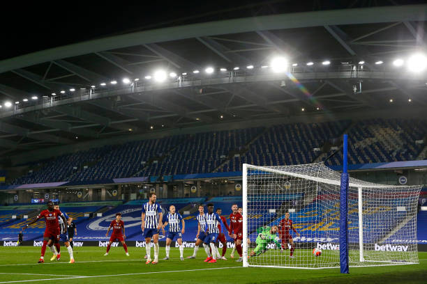 GBR: Brighton & Hove Albion v Liverpool FC - Premier League