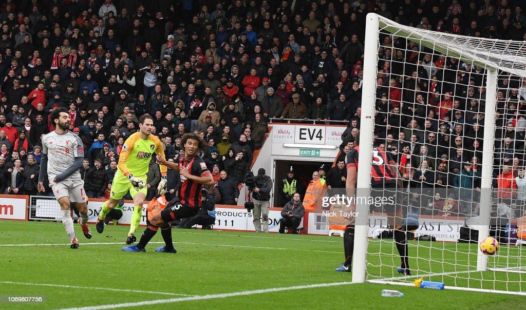 AFC Bournemouth v Liverpool FC - Premier League : News Photo