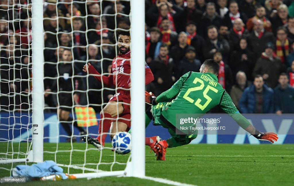 Liverpool v SSC Napoli - UEFA Champions League Group C : News Photo