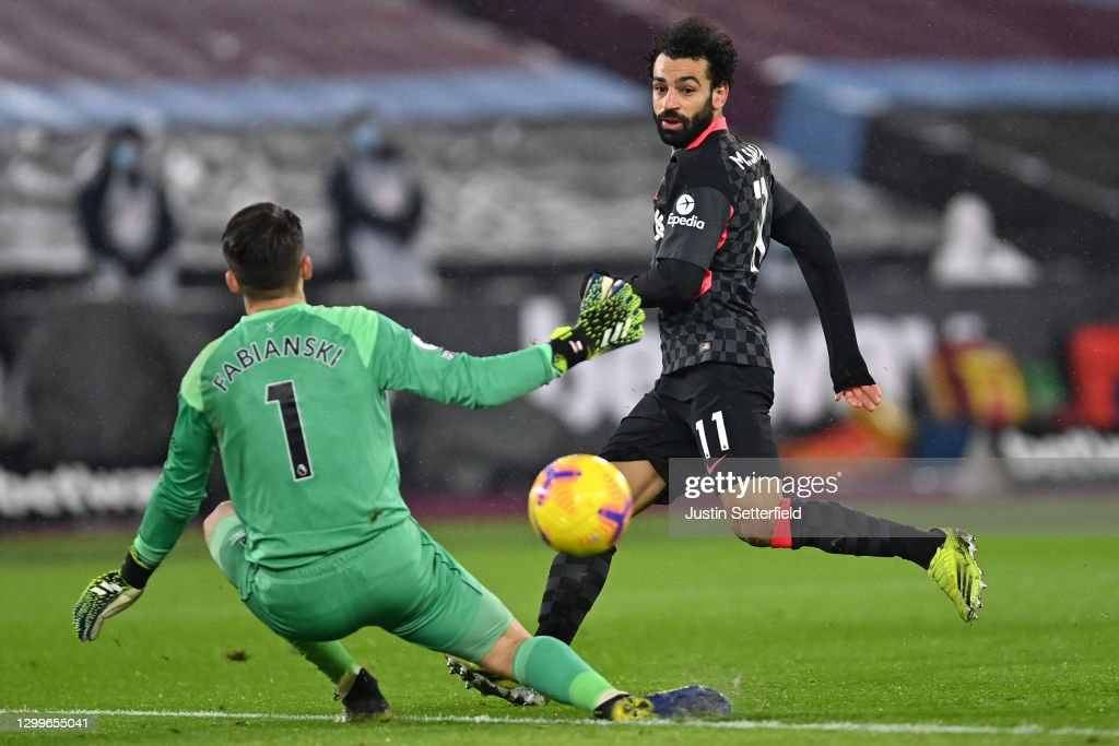 West Ham United v Liverpool - Premier League : ニュース写真