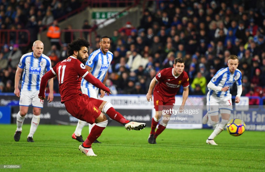 Huddersfield Town v Liverpool - Premier League : News Photo