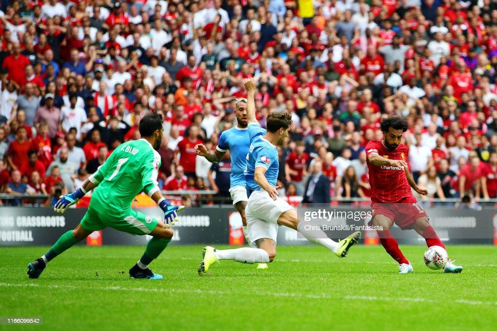 Liverpool v Manchester City - FA Community Shield : News Photo