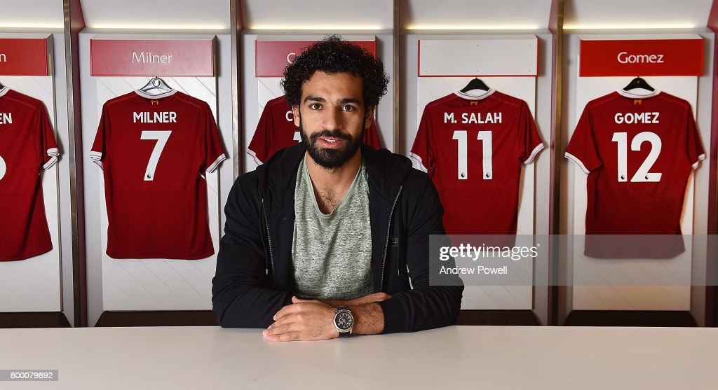 Liverpool Announce Signing of Mohamed Salah : Foto di attualità
