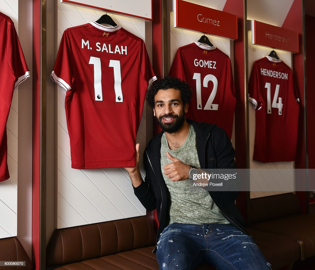 Liverpool Announce Signing of Mohamed Salah : ニュース写真