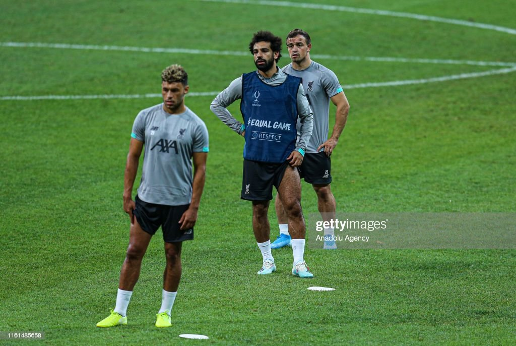 Ahead of Liverpool v Chelsea: UEFA Super Cup : News Photo