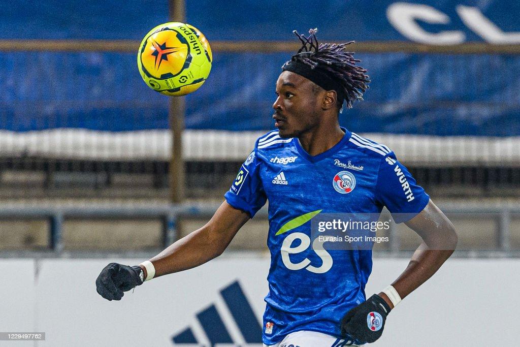 RC Strasbourg v Olympique Marseille - Ligue 1 : ニュース写真
