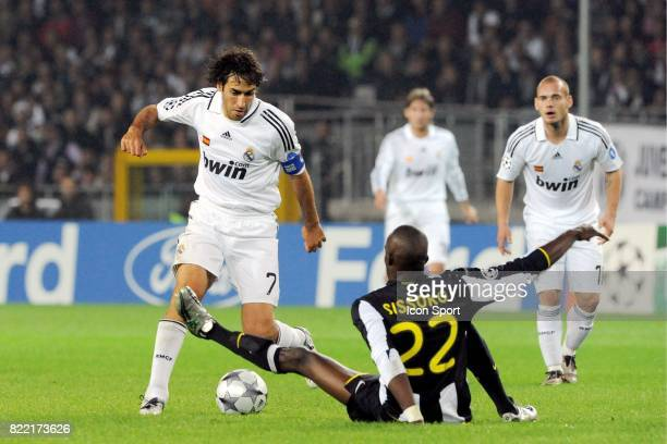 RAUL / Mohamed SISSOKO Juventus Turin / Real madrid 1er tour Champions League