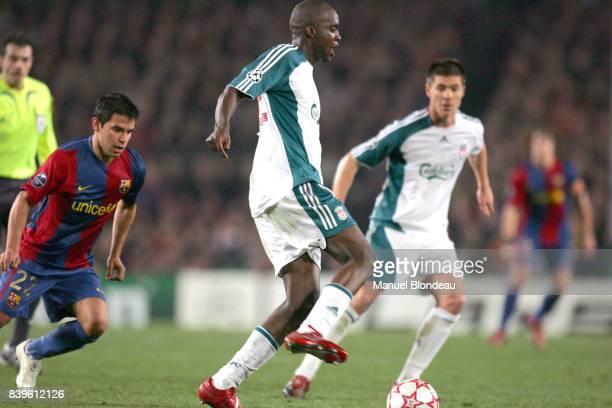 Mohamed SISSOKO Barcelone / Liverpool 1/8eme de Finale aller Champions League 2006/2007