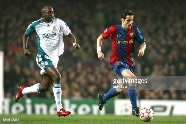 Mohamed SISSOKO / Juliano BELLETTI Barcelone / Liverpool 1/8eme finale aller Champions League 2006/2007