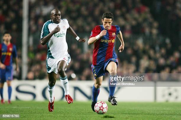 Mohamed SISSOKO / Juliano BELLETTI FC Barcelone / Liverpool FC 1/8 Final Champions League