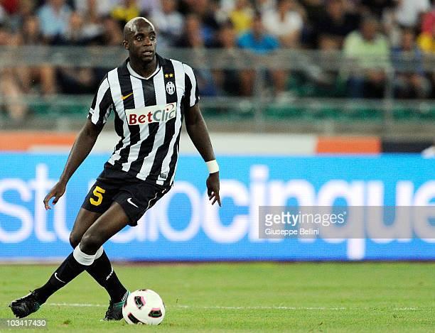 Mohamed Sissoko of Juventus during the TIM preseason tournament at Stadio San Nicola on August 13 2010 in Bari Italy