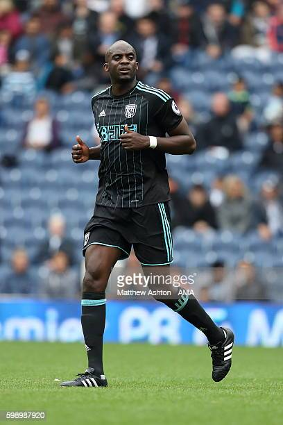 Mohamed Sissoko of West Bromwich Albion during the international friendly match between West Bromwich Albion and Delhi Dynamos at The Hawthorns on...