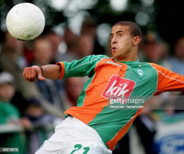 Mohamed Zidan of Bremen during the friendly match between ...  Mohamed Zidan o...