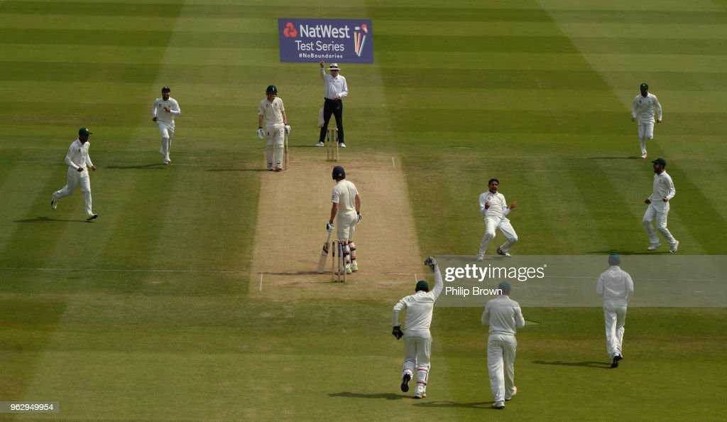 England v Pakistan: Natwest 1st Test - Day Four : News Photo