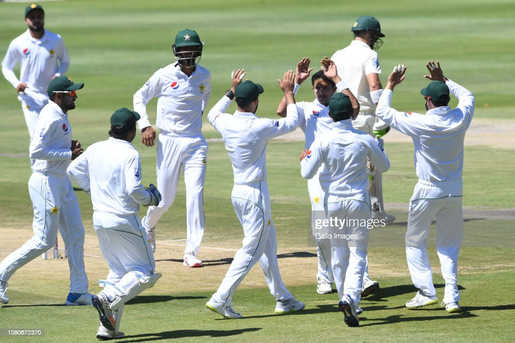 South Africa v Pakistan - 3rd Test : News Photo