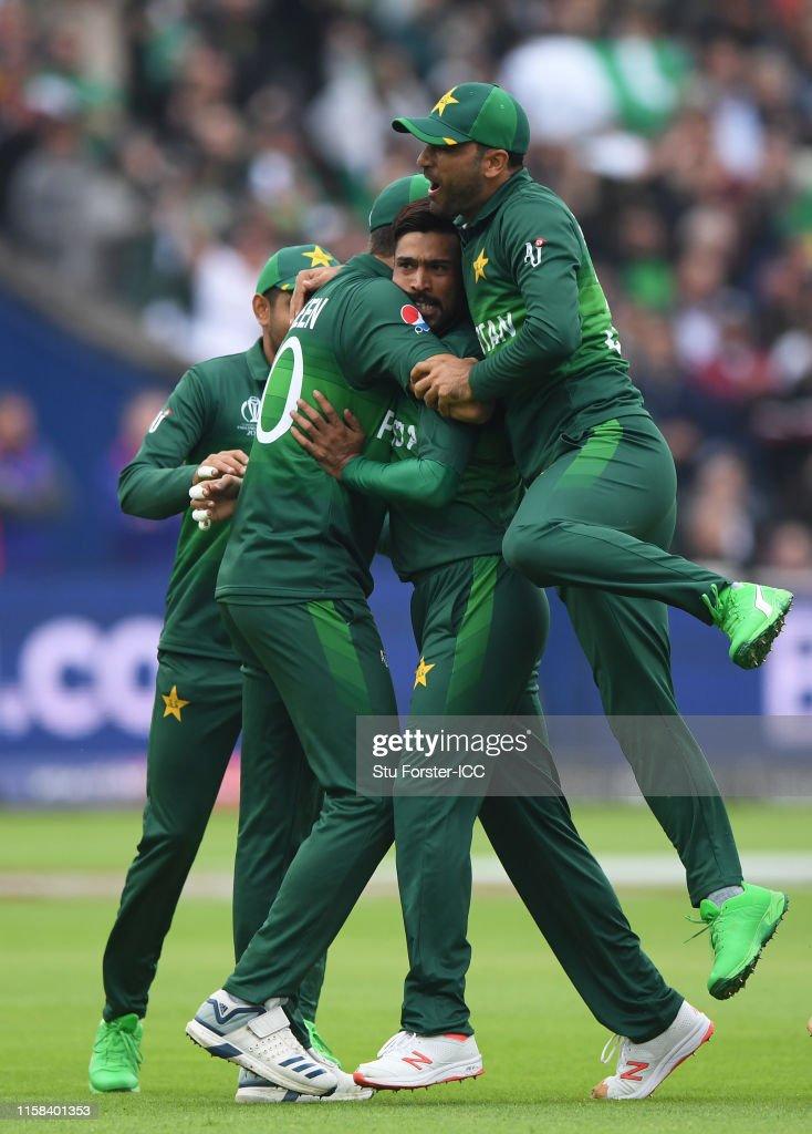 New Zealand v Pakistan - ICC Cricket World Cup 2019 : ニュース写真