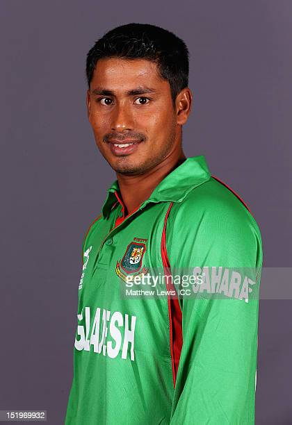 Mohammad Ashraful of Bangladesh pictured during a Bangladesh Portrait session ahead of the ICC T20 world Cup at the Taj Samudra Hote on September 14...