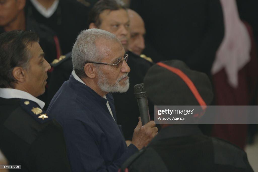 Ikhwan members' trial in Egypt : News Photo