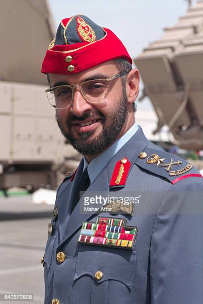 Mohammad Bin Zayed AlNahyan Chief of Staff of UAE Armed Forces is the son of Shiekh Zayed Bin Sultan Al Nahyan