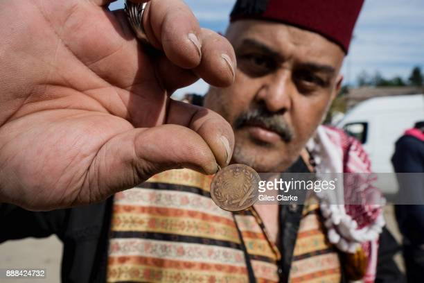 Mohammad Dakajee an antique dealer from Damascus Syria poses for a portrait photograph in Presevo Serbia Monday Oct 5 2015 Mohammad is an antique...