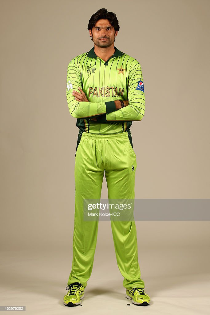 Pakistan 2015 ICC Cricket World Cup Headshots Session