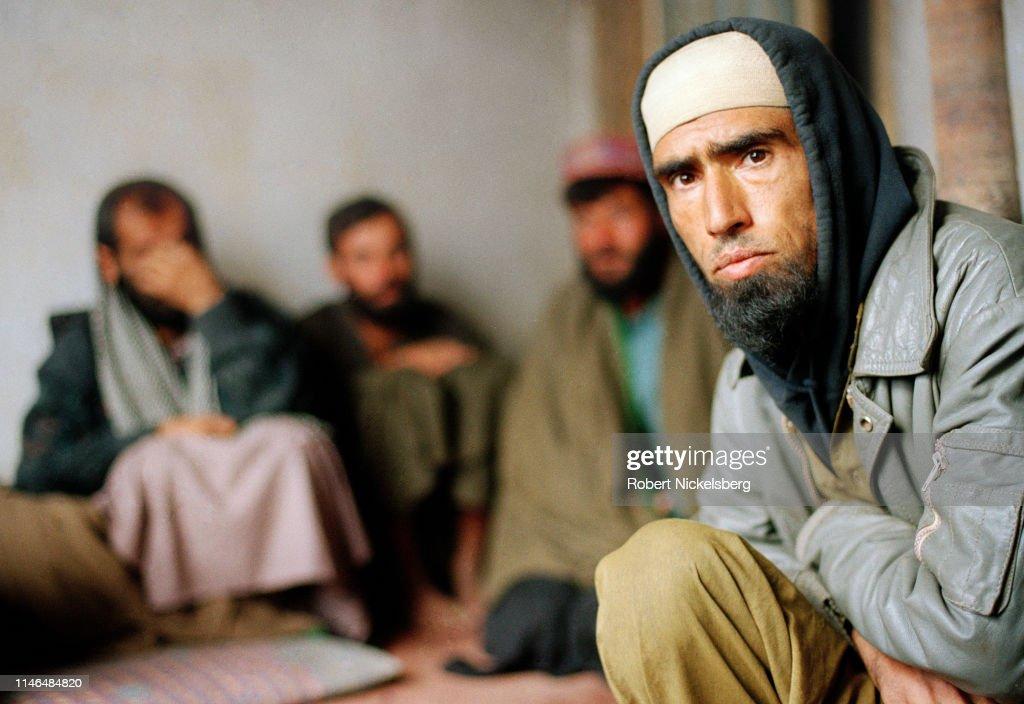 Taliban Prisoners Of War Held In Kabul : News Photo