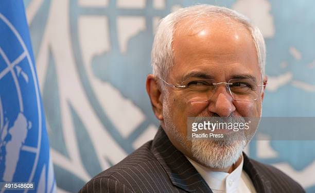 Mohammad Javad Zarif Minister for Foreign Affairs of the Islamic Republic of Iran at the United Nations Headquarters in New York City