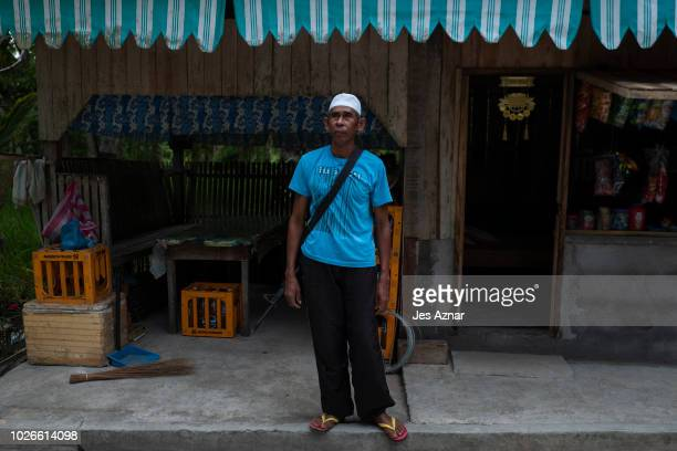 Mohammad Kanakan a farmer in Buayan village with his rifle on September 1 in Datu Piang Maguindanao southern Philippines The Moro Islamic Liberation...