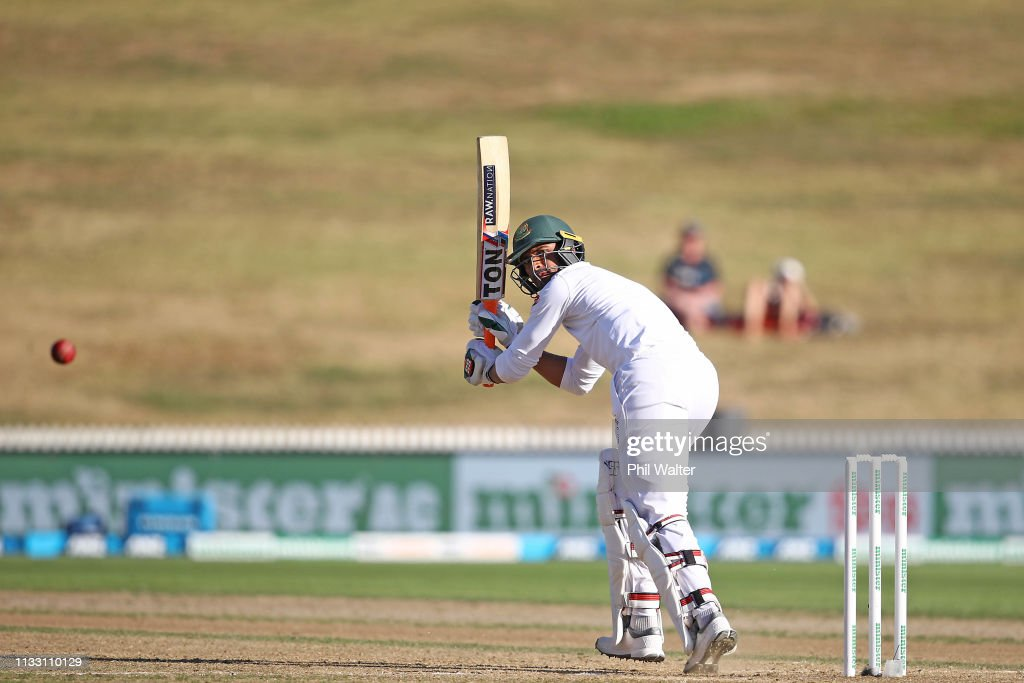 New Zealand v Bangladesh - 1st Test: Day 3 : News Photo