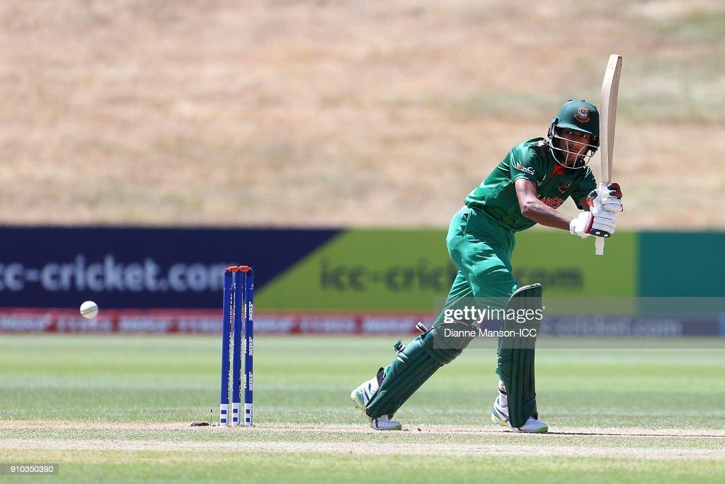 ICC U19 Cricket World Cup - QF4: India v Bangladesh : News Photo