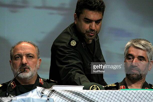 Mohammad Reza Naqdi -the commander of the Basij paramilitary force of the Islamic Republic of Iran- and Ali Asghar Fani -Minister of Education-...