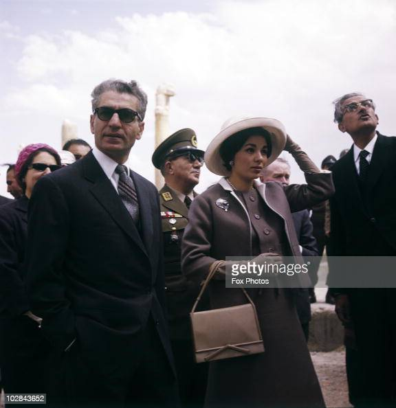 Shah of iran and wife pictures getty images for Shah bano farah pahlavi