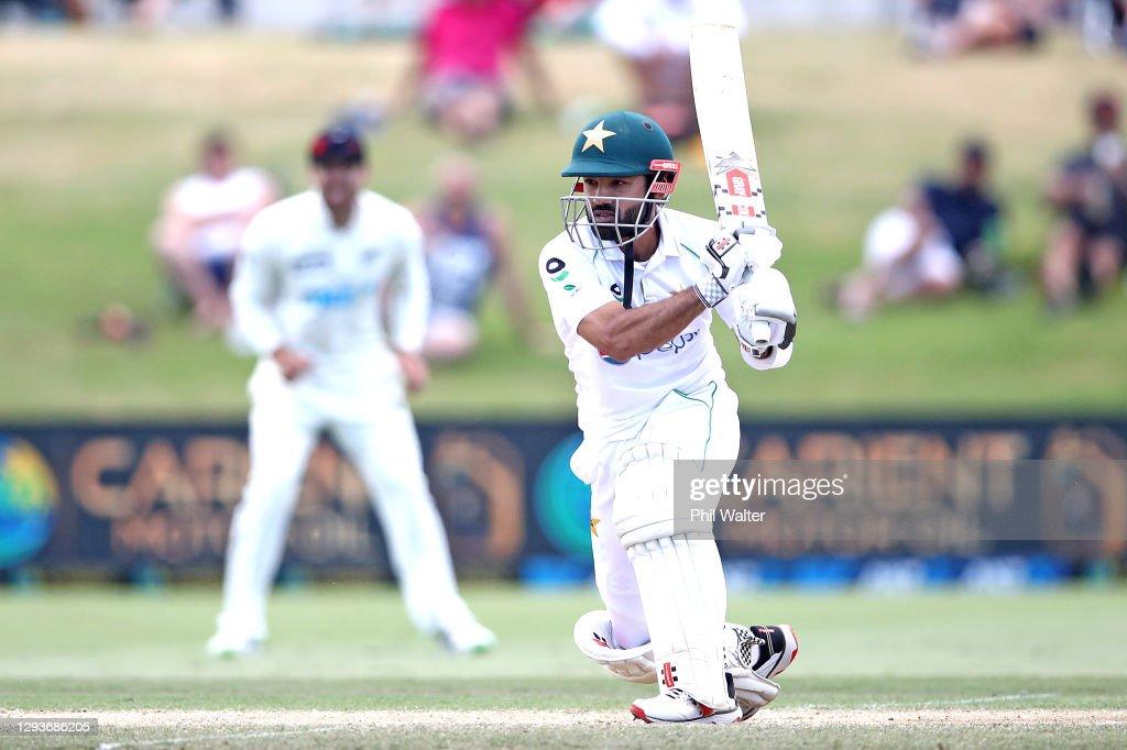 New Zealand v Pakistan - 1st Test: Day 5 : News Photo