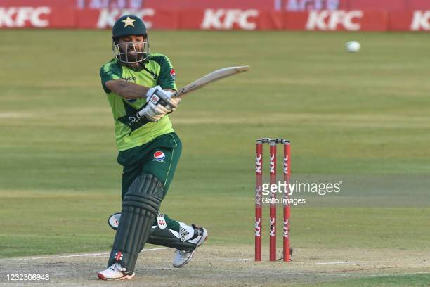 Mohammad Rizwan of Pakistan during the 3rd KFC T20 International match between South Africa and Pakistan at SuperSport Park on April 14, 2021 in...